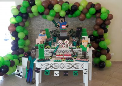 Mesa Decorada Minecraft