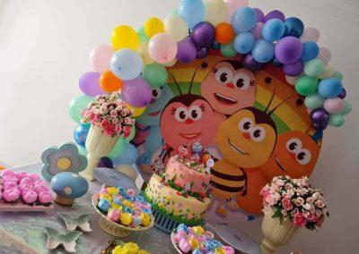 Arco de balões Cand Colors 090121 (1)