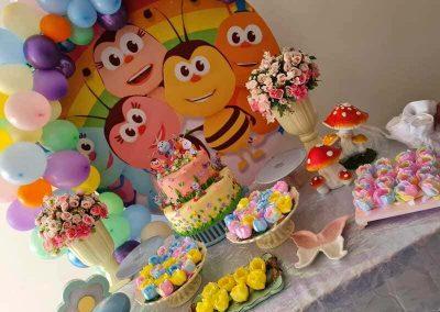 Arco de balões Cand Colors 090121 (2)